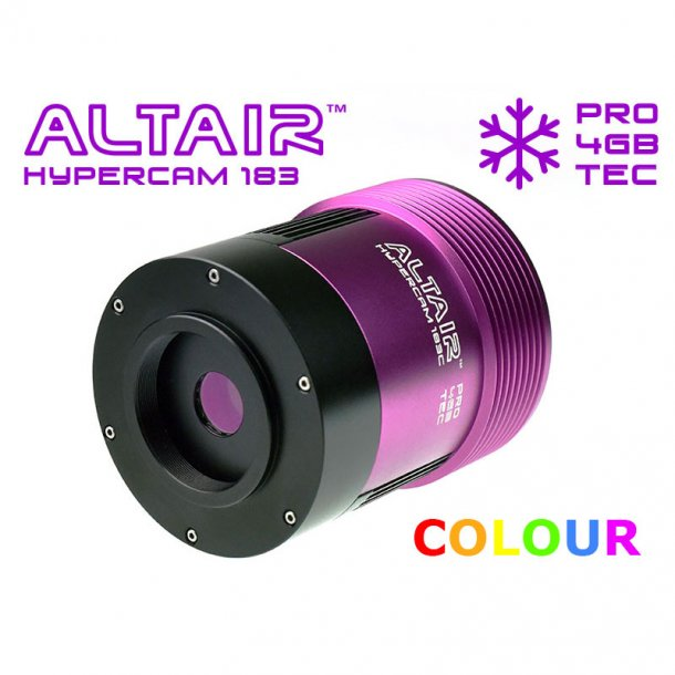 Altair Hypercam 183C Pro BSI farvekamera m/TEC køling (20MP)