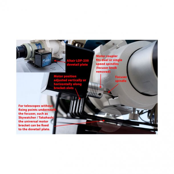 Pegasus universal motorfokus kit V3