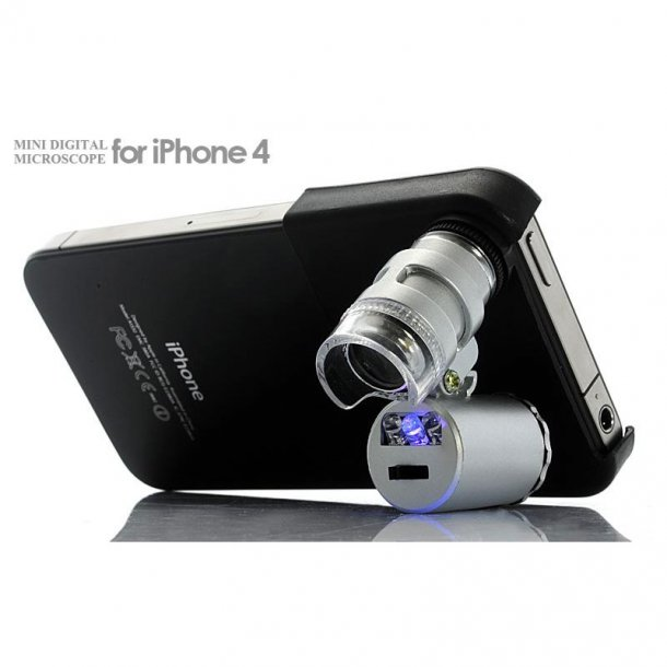 Astro 60x iPhone 4/4S Lup m/LED & UV