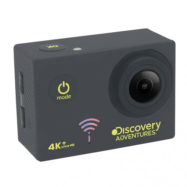 Discovery Adventures 4K UHD Actionkamera m/WiFi