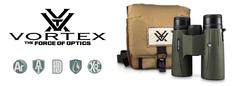 Vortex Optics Viper HD II håndkikkerter med GlassPak taske...