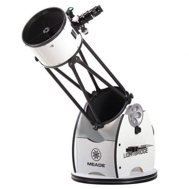 Meade 10'' LightBridge Truss-Tube Dobsonian teleskop