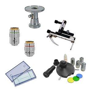 Tilbehør til mikroskoper