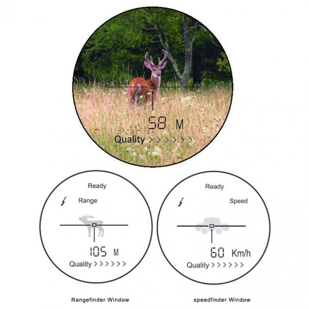 Yukon Extend 6x24 LRS-1000 WP afstandsmåler