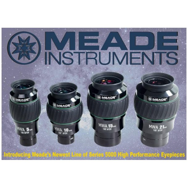 Meade MWA 100 grader Serie 5000 WP okular