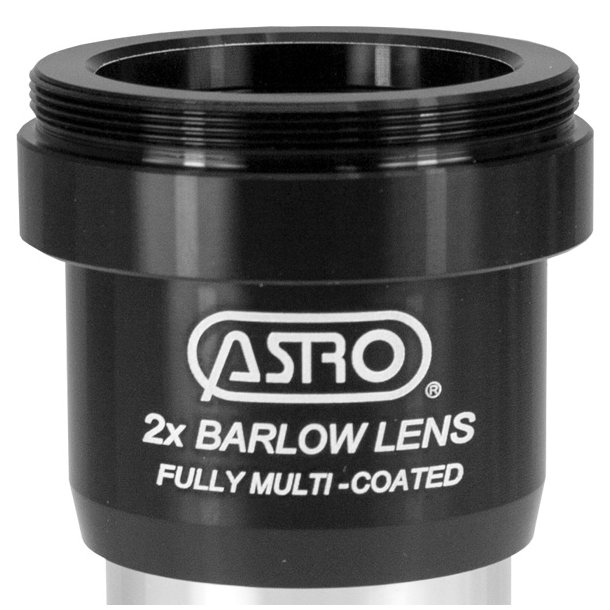 Astro 2x Deluxe barlow linse m/T2 gevind (1.25
