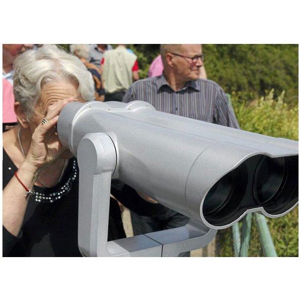 Astro Panorama 25x100 MC udsigtskikkert m/møntindkast