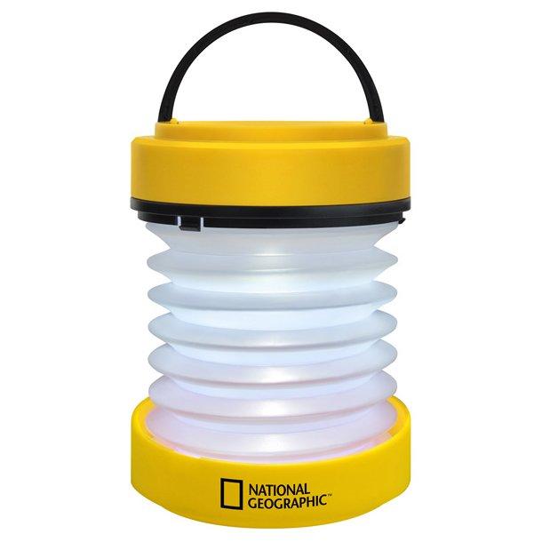 National Geographic 2-i-1 lygte LED lanterne