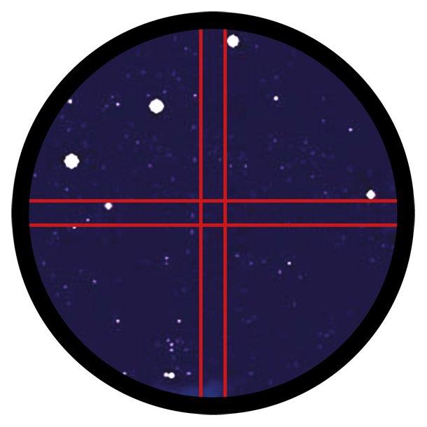 Astro 9x50 søger m/belyst trådkors