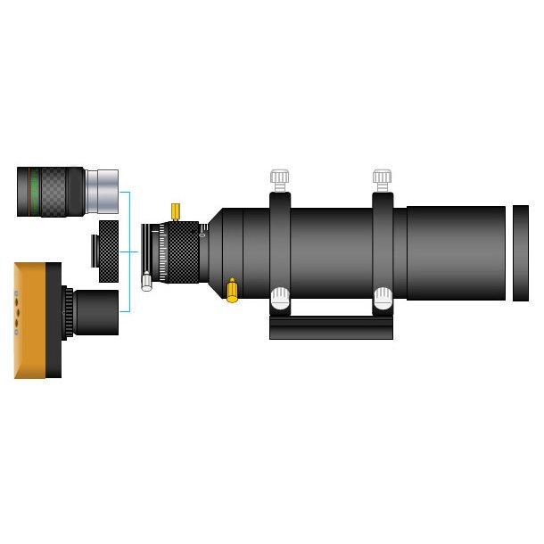 Astro 60mm DLX guide scope