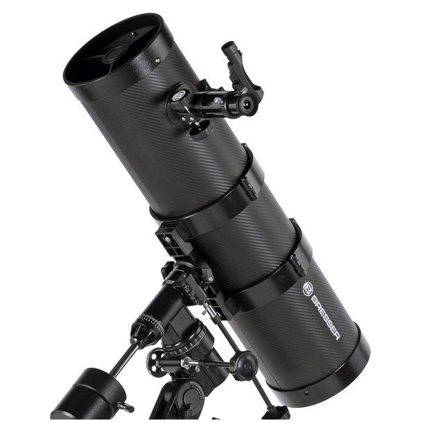 Bresser Pollux 150/1400mm Carbon teleskop m/Smartphone adapter (EQ)