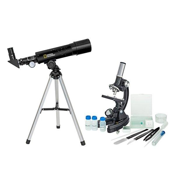 National Geographic teleskop & mikroskop sæt