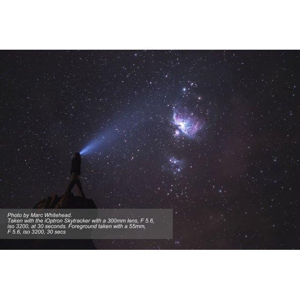 iOptron SkyTracker Pro m/polsøger