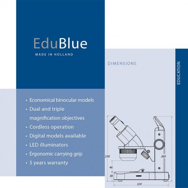 Euromex EduBlue Stereo LED mikroskoper