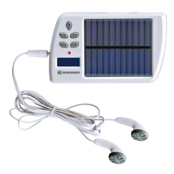 BRESSERsolar MP3 FM Player