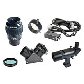 Tilbehør & udstyr til teleskoper